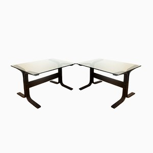 Norwegian Siesta Coffee Tables by Ingmar Relling for Westnofa, 1960s, Set of 2