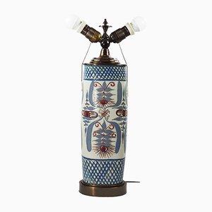 Mid-Century Keramiklampe von Marianne Johnson Hansen für Aluminia Faience