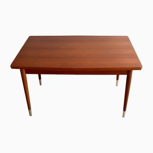 Mid-Century Belgian Teak Dining Table, 1960s