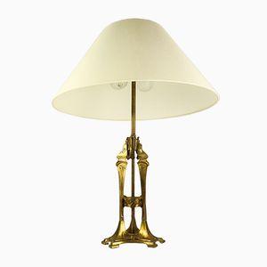 Tischlampe im Jugendstil
