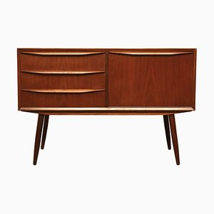 Small Danish Teak Sideboard, 1950s