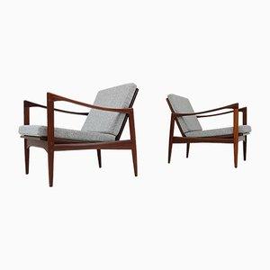 Kandidaten Chairs by Ib Kofod-Larsen, Set of 2