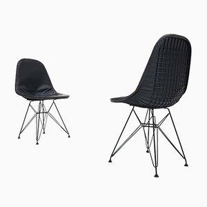 Chaises DKR Vintage par Charles & Ray Eames, Set de 2