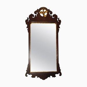 Antiker Chippendale Spiegel aus Mahagoni