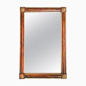 Specchio veneziano in legno intagliato a mano, XIX secolo