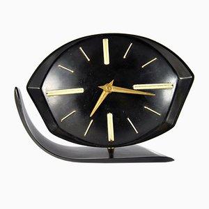 Reloj de chimenea checoslovaco, años 50