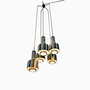 Italian Model 1223 Chandelier from Stilnovo, 1960s