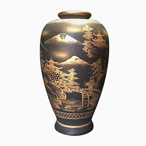 Antike japanische Satsuma Vase