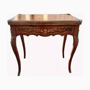 Antiker französischer Louis XV Spieltisch