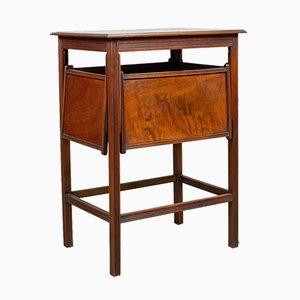 Antique English Edwardian Tea Table, 1910s