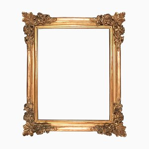 Antique Louis XIV Large Giltwood Frame