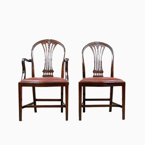 Dining Chairs, 1930s, Set of 6