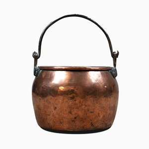 18th Century Georgian Copper Cauldron