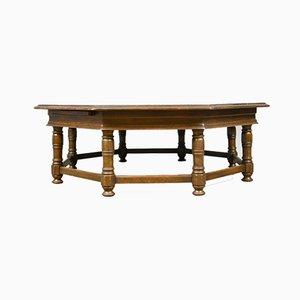 Grande Table Basse Vintage en Chêne, Angleterre
