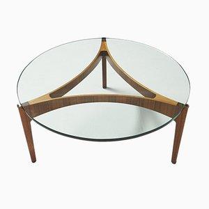 Table Basse Tripode Vintage par Sven Ellekaer pour Christian Linneberg