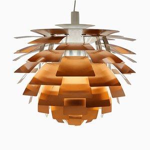Lámpara Artichoke de cobre de Poul Henningsen para Louis Poulsen, años 60