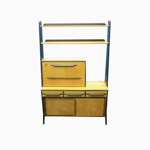Mueble bar de Karl Nothhelfer para Pollmann, años 50