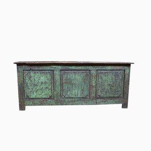 Vintage Italian Wooden Shop Counter