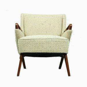 Dänischer Vintage Sessel mit Gestell aus Teak von Erheg, 1950er