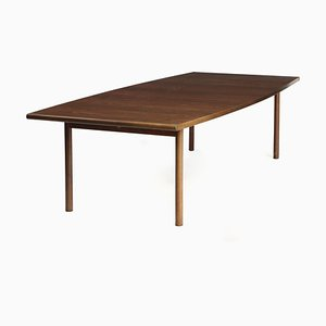 Large Brazilian Rosewood Dining Table by Arne Vodder for Sibast, 1960s