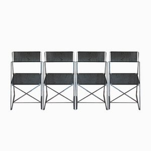 Vintage Nuova X-Line Stühle von Magis, 1980er, Set of 4