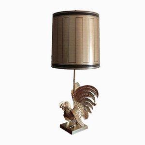 Vintage Coq Gaulois Tischlampe