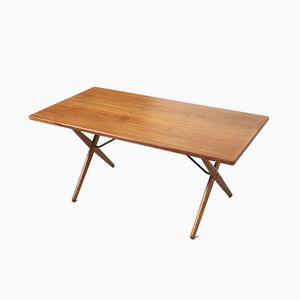AT 303 Dining Table by Hans J. Wegner for Andreas Tuck, 1950s