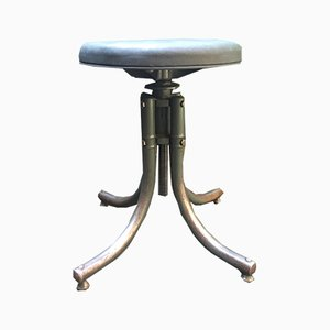 Vintage Industrial Stool from Bienaise