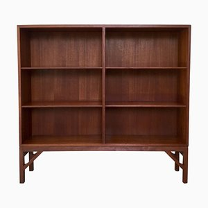 Danish Teak Bookcase by Børge Mogensen for C.M. Madsen, 1950s
