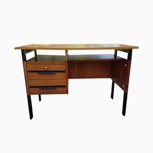 Vintage Oak Office Desk, 1950s