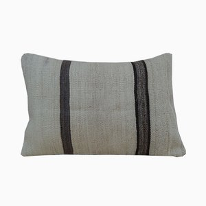 Handwoven Organic Bohemian Striped Kilim Pillow Cover from Vintage Pillow Store Contemporary