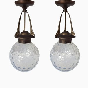 Art Nouveau Lanterns, Set of 2