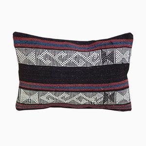 Funda de cojín Kilim turca hecha a mano de Vintage Pillow Store Contemporary
