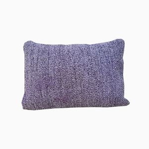 Handwoven Lilac Pillow Cover from Vintage Pillow Store Contemporary