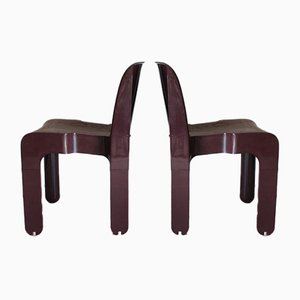 Chairs by Joe Colombo for Kartell, 1960s