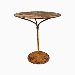 Antique French Bistro Table from Gueridon Ruffier