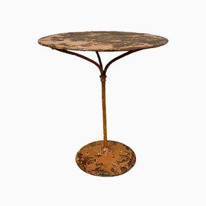 Tavolo da bistrò antico di Gueridon Ruffier, Francia