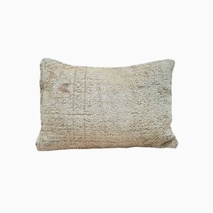 Handmade Wool Lumbar Pillow Cover from Vintage Pillow Store Contemporary