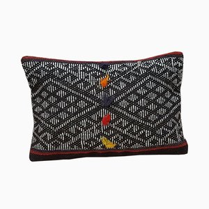 African Mudcloth Pillow Cover from Vintage Pillow Store Contemporary