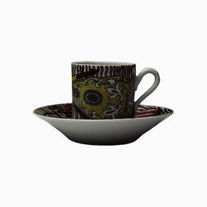 Strumenti Musicali Espresso Cup by Piero Fornasetti, 1950s