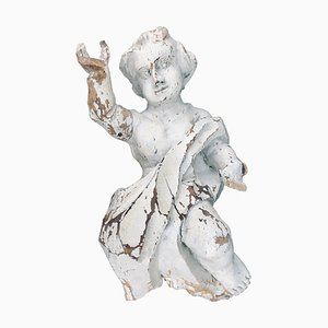 Baroque German Hand-Carved Putto