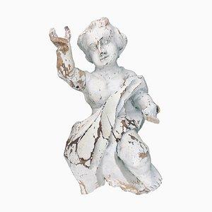 Querubín alemán barroco tallado a mano