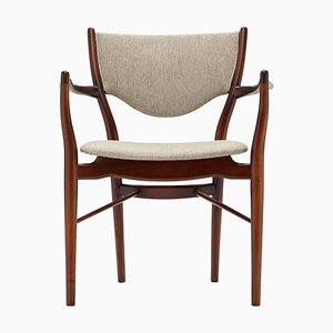 Armchair BO-46 Chair by Finn Juhl for Bovirke, 1950s