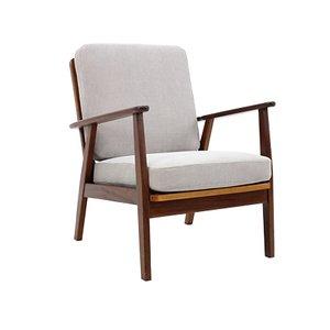 Dänischer Sessel mit Gestell aus Teak, 1960er
