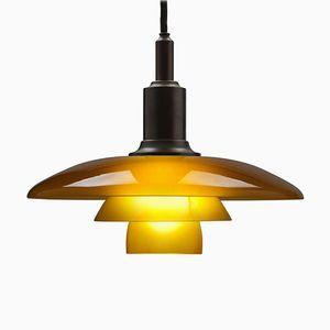 Lampe à Suspension PH 3/2 en Laiton par Poul Henningsen pour Louis Poulsen, 1994