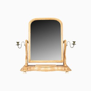 Antique English Painted Dressing Table Mirror, 1870s