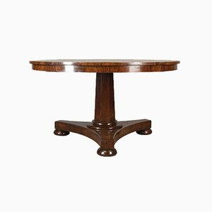 Antique English Rosewood Regency Breakfast Table, 1820s