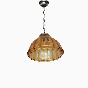 Murano Glass Ceiling Lamp, 1940s