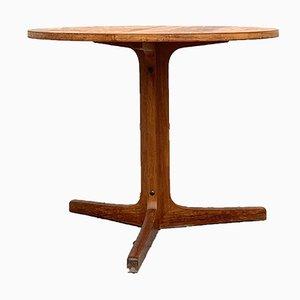 Mesa de centro vintage de teca de Hans Andersen, años 60