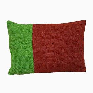 Housse de Coussin Vert et Rouge de Vintage Pillow Store Contemporary